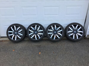 "17"" Honda Factory Alloy  Rims & Winter Tires"