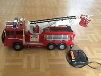 Remote controlled fire truck