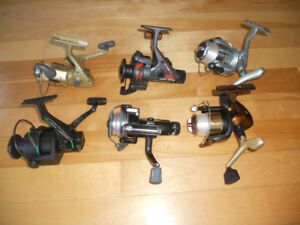 Moulinets pour canne peche, 35$ chaques, Fishing reels for rods