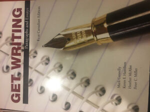 Get writing paragraphs and essays first canadian edition
