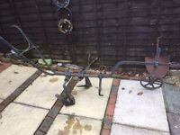 Very old plough ( new lower price)