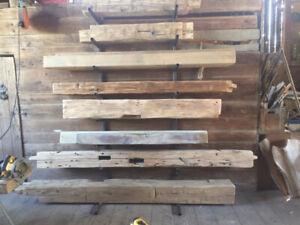 BARN BEAMS FOR MANTELS  , TABLE ,BENCHES + 250 LIVE EDGE SLABS ,