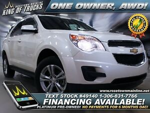 2014 Chevrolet Equinox 1LT One Owner | AWD | Low KM