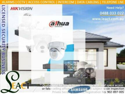 Alarm, CCTV, Data cabling, MDF jumpe, Intercom and Access control