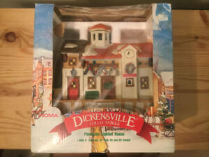 Dickensville Collectables Porcelain Lighted House
