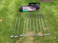 John Letters Irons golf set