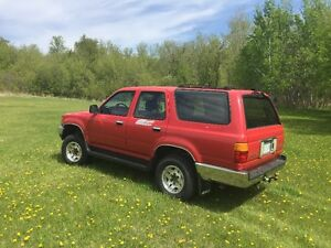Classic Bush Machine - 1990 Toyota 4runner - No rust