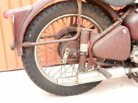 BSA C11 1953 250cc CLASSIC MOTORCYCLE WITH LONG TERM PREVIOUS OWNERSHIP.
