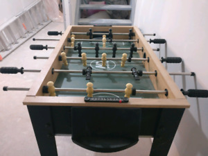 Foosball table