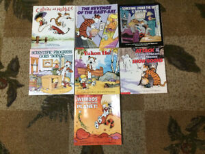 CALVIN AND HOBBES SET - Good condition - 10 books