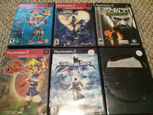 PS2 & PSP Games
