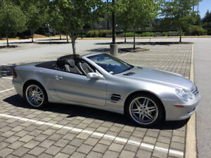 2004 Mercedes SL 500 roadster convertible