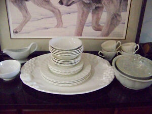White Dinnerware 21 Pc most Myott Meakin