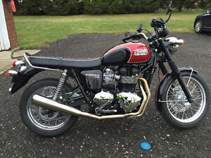 Triumph Twin Exhaust System