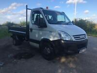IVECO DAILY 35C12 3450 MWB TIPPER TRUCK 49K NEW TIMING BELT CD 1 YEAR MOT 2007