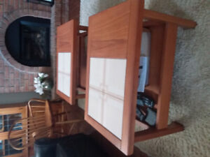 1970's Teak coffee and end tables