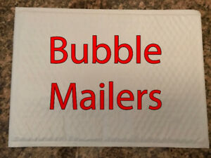 ATTENTION ETSY & EBAY SELLERS.  $25 FOR 281 BUBBLE MAILERS