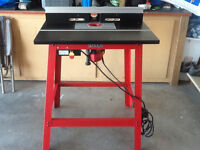 FREUD router, table and fence