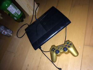 ps3 with games 2 controllers