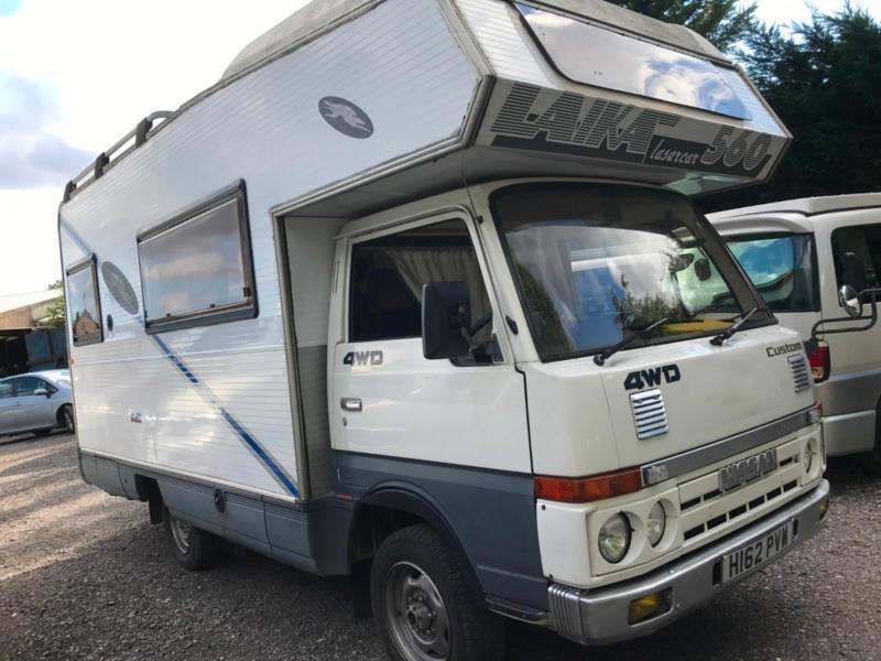 Nissan Atlas Cabstar 4 / 5 BERTH MOTORHOME 4WD MANUAL JAPANESE IMPORT  DIESEL | in Gloucestershire | Gumtree