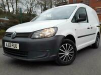 VW CADDY 1.6 TDI CR 20 2012\12 REG WHITE FSH ONLY £4990 NO VAT !!!