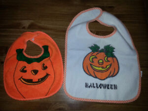 Variety of baby items (shoes, bibs etc)