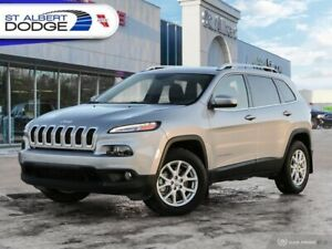 2017 Jeep Cherokee North  LOW KM| AWD| BLUETOOTH| KEYLESS ENTRY