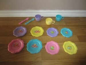 """BARBIE"" DISHES, CUPS & UTENSILS - $3.00 EACH"
