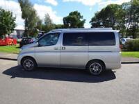 Nissan Elgrand 2 Berth Campervan for sale