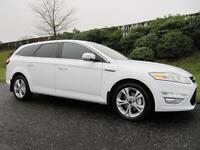 2011 FORD MONDEO *TITANIUM* ESTATE 2.0TDCi 163BHP*LOW MILES* FROZEN WHITE*
