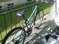 je vends mon vélo pour 50 piéce négociable