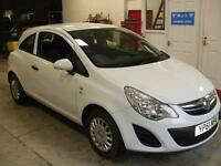 VAUXHALL CORSA 1.0i 12v ECOFLEX S 3 ICE WHITE WARRANTY INCLUDED FINANCE
