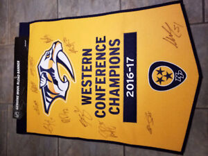 Pk Subban **Western Conference Champion Banner**