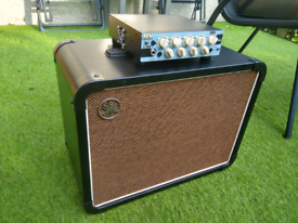 DV MARK Micro 50 Guitar Amp/Amplifier + Yamaha THRC 1x12 Cab/Cabinet