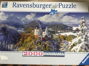 Puzzle/casse-tête Ravensburger Panorama 2000 morceaux Château