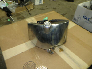 OEM Harley Softail Chrome Oil Tank