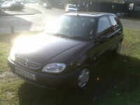 Citroen Saxo 1.1i 2003MY Forte BLACK