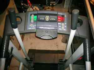 Treadmill w/ power incline