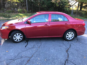 2012 Toyota Corolla (Excellent Condition)