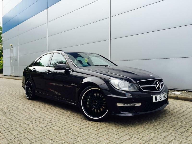 2011 61 reg mercedes benz c63 amg 6 3 edition 125 saloon for Mercedes benz c63 amg black edition