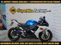 2012 62 SUZUKI GSXR750 750CC 0% DEPOSIT FINANCE AVAILABLE