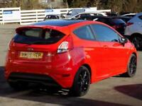 2016 65 FORD FIESTA 1.0 ZETEC S RED EDITION 3DR (140)