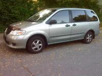 2003 Mazda MPV 7 Passenger Van with* Remote Starter*