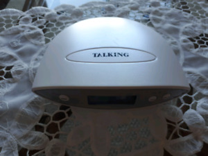 Large talking clock for visually impaired