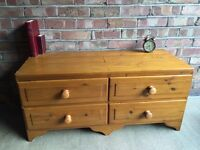 DUCAL PINE MADE IN ENGLAND TV TABLE FREE DELIVERY