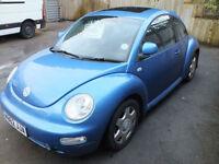 Volkswagen Beetle 2.0 2000MY RHD