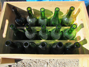 Wine Bottles and Box