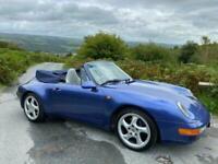 1997 (R) Porsche 911 993 C2 Cabriolet Tiptronic,47000 miles