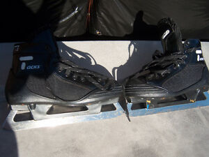 Size 8 1/2 CCM Tacks Goalie Skates