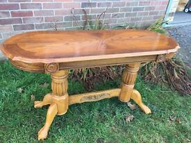 Gorgeous Oak Hallway Console Table Vgc